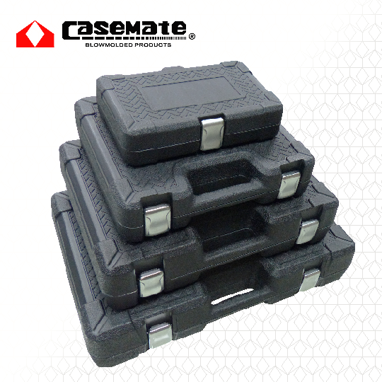 17.Blow Mold Case With Changeable Latches